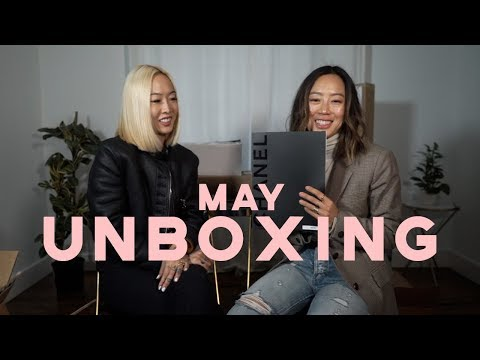 May Unboxing with Dani Song  Aimee Song