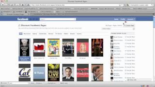 كيفية إنشاء Facebook الصفحة (تحديث!)
