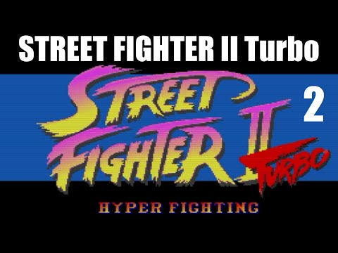 [2/4] Ryu Playthrough - STREET FIGHTER II Turbo(SNES)