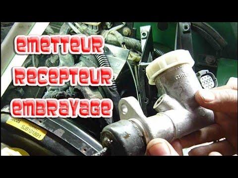 Remplacement émetteur et récepteur embrayage Land Rover Defender