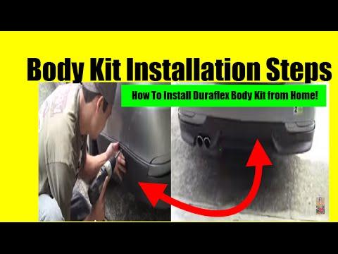 How To Install Your Duraflex Body Kit Body Kit