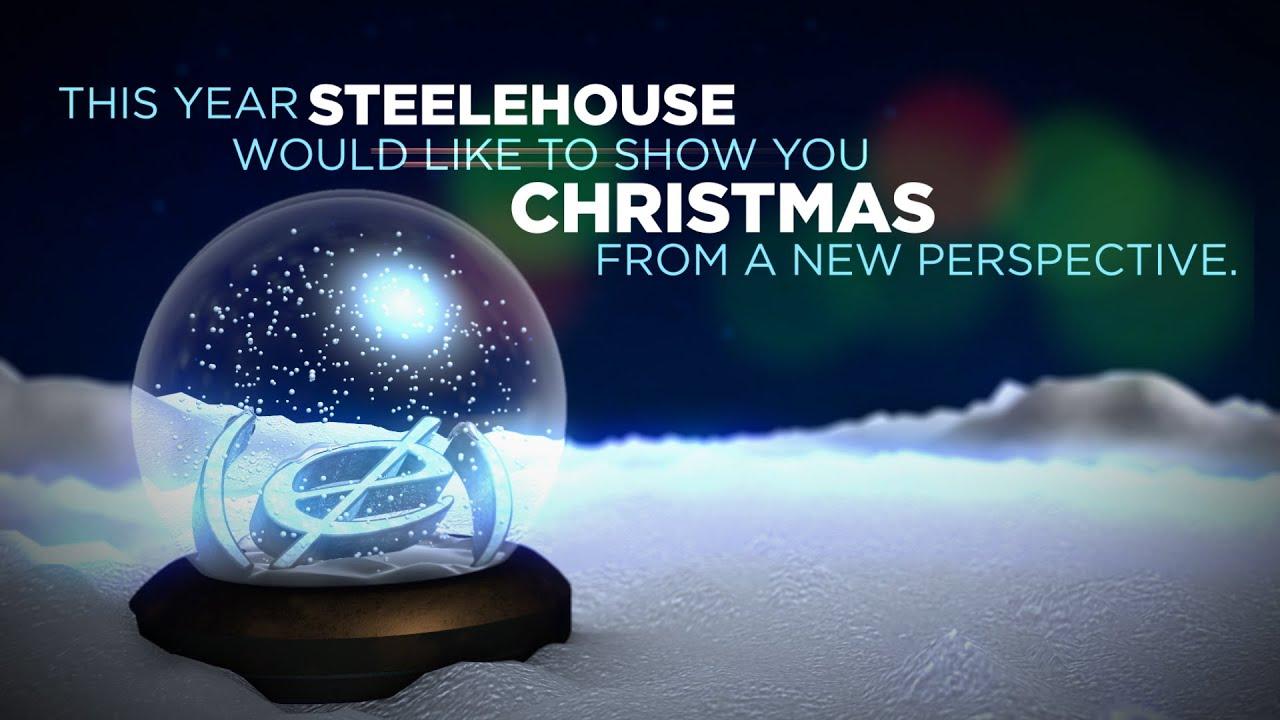 The 2015 Steelehouse Virtual Reality Christmas Card - YouTube