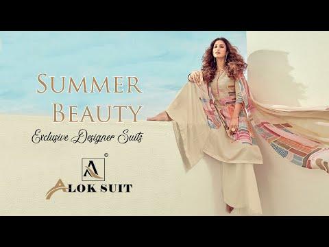 SUMMER BEAUTY Designer Suits || Alok Suit || Salwar Kamzeez || Salwar Suit Designs