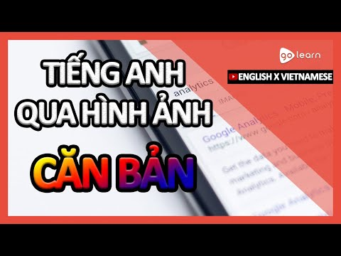 Học Tiếng Anh Qua Hình Ảnh |Từ Vựng Tiếng Anh Căn Bản | Golearn