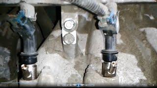 установка гбо с проставками под бензиновые форсунки(все можно сделать своими руками, смотрите на канале maysternya tv., 2016-09-19T16:50:25.000Z)