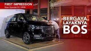 First Impression New Hyundai H 1 2018 смотреть