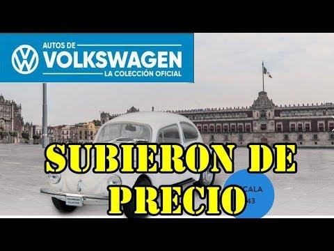 SUBIERON DE PRECIO LOS AUTOS DE VOLKSWAGEN DE PLANETA DEAGOSTINI