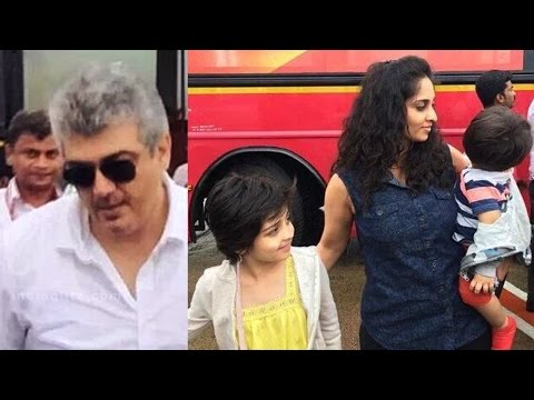 'Thala' Ajith holidaying in Goa with family | Hot Tamil Cinema News