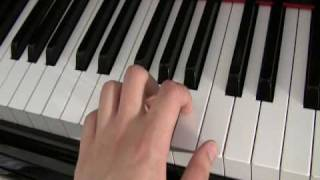 How to play piano: The basics,  Piano Lesson #1