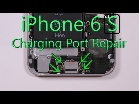 iPhone 6S Charging Port Repair Shown in 4 minute Fix