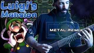Luigi S Mansion Pegboard Nerds METAL REMIX
