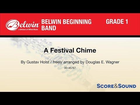 A Festival Chime, arr. Douglas E. Wagner – Score & Sound