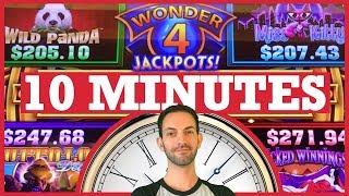 💰 WonderFULL Jackpots for 1⃣0⃣ Minutes! ✦ Slot Machine Pokies w Brian Christopher