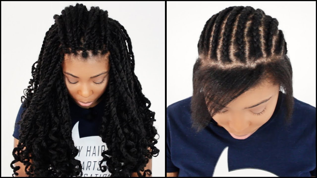 Hairstyles for Crochet Kinky Twist