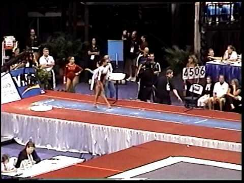 Kayla Hoffman (Rebound) - 2005 US Sr Nationals - Vault (Day 1)