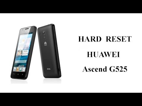 Hard Reset Huawei Ascend G525 Сброс Настроек