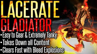 [Path of Exile 3.8] Lacerate Gladiator – Build Guide – Beginner Friendly and Takes Down All Content!