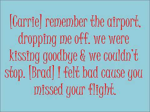 Remind Me By Brad Paisley Featuring Carrie Underwood Lyrics