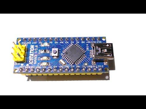 Обзор Arduino Nano V3.0. Порты. Распиновка. Подключение