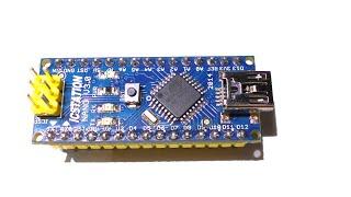 Обзор Arduino Nano v3.0. Порты. Распиновка. Подключение(Плата отсюда: http://www.icstation.com/icstation-atmega328-nano-board-compatible-with-arduino-p-3483.html Продолжение: http://goo.gl/ZsjzX8 А вот видео ..., 2015-05-05T23:03:34.000Z)