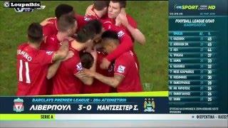Λίβερπουλ - Μάντσεστερ Σίτι 3-0
