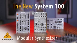 NAMM 2020 - Introducing System 100 - Behringer Modular Synthesizer