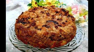 Torta de Banana com Crosta Crocante