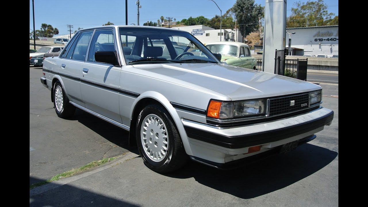 One Owner Car Guy >> 1985 Toyota Cressida 1 Owner 92k Miles Classic Youngtimer Mint X70