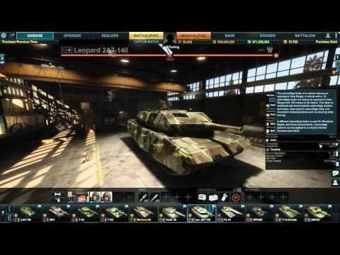 Armored Warfare - Leopard 2 A7 140 - Updated Stat! - PTS