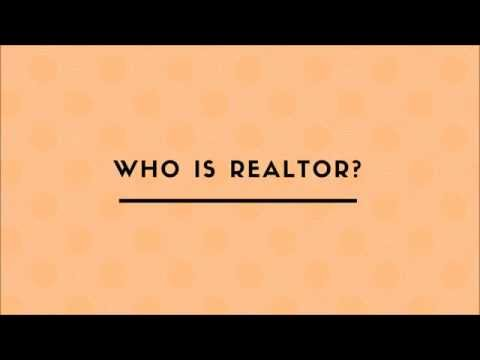 Who Is Realtor?