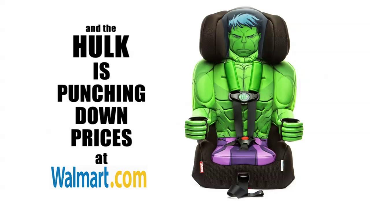 KidsEmbrace Hulk Car Seat