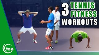 3 Great Workouts To Improve Your Tennis Fitness | TENNIS HOME WORKOUT