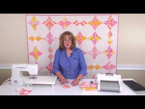 Sizzix Quilting: Wacky Web by Missouri Star Quilt with Linda Nitzen