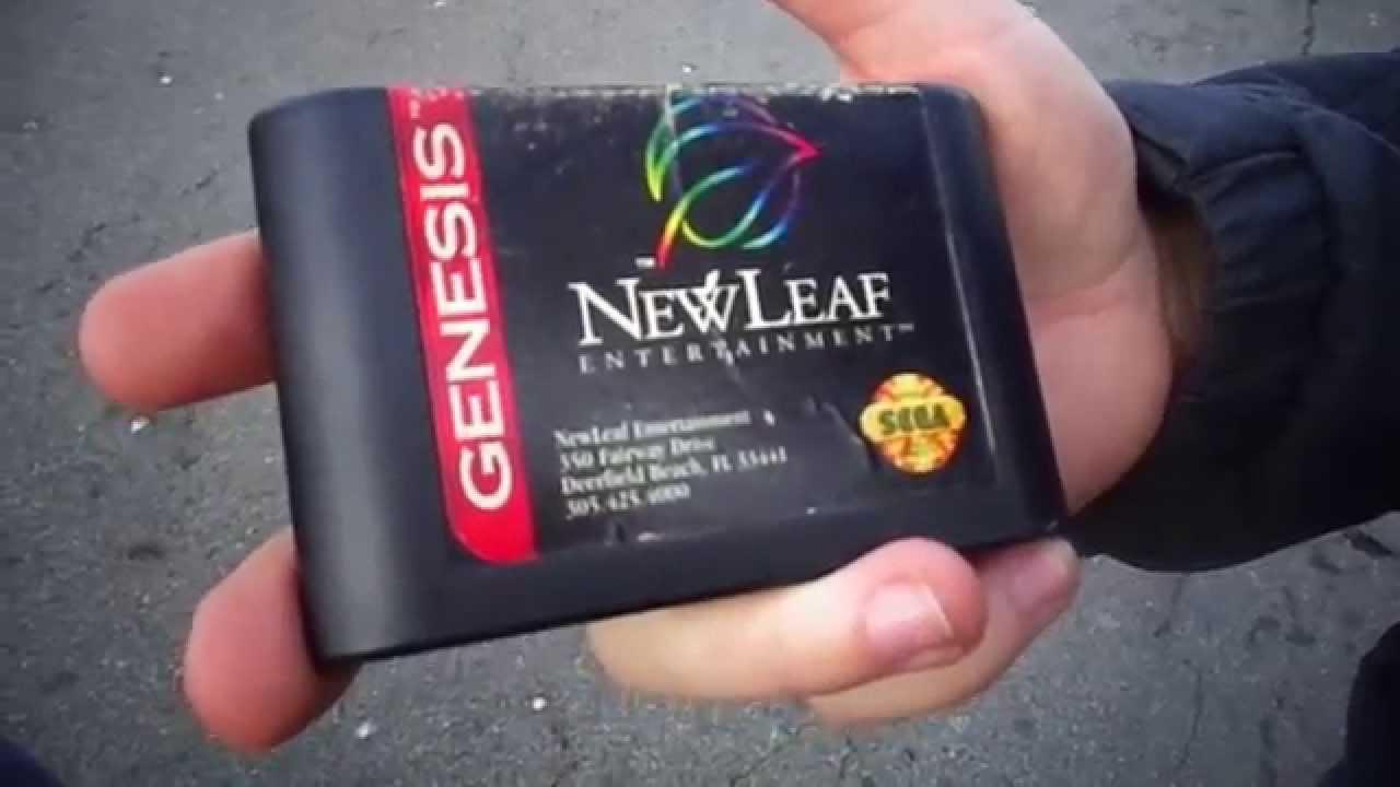 rare sega genisis games