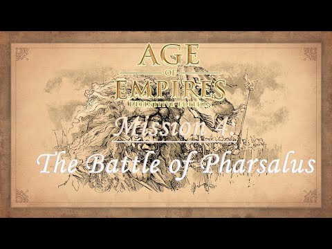 Age Of Empires Definitive Edition - Ave Caesar Campaign, Mission 4: The Battle Of Pharsalus