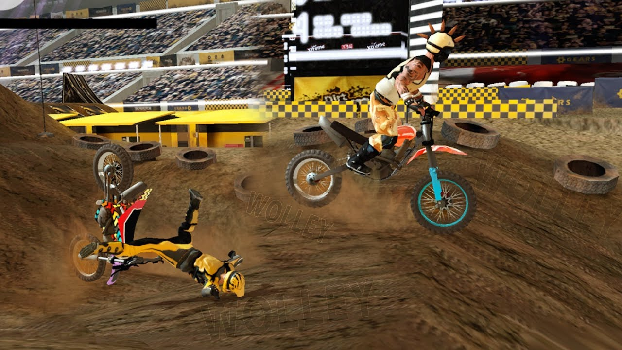 Dirt Xtreme 2 Bike Racing Game Android Gameplay FHD Motocross Racing ...