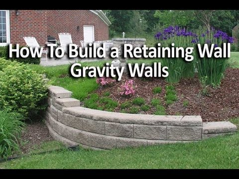 Short Retaining Wall Ideas