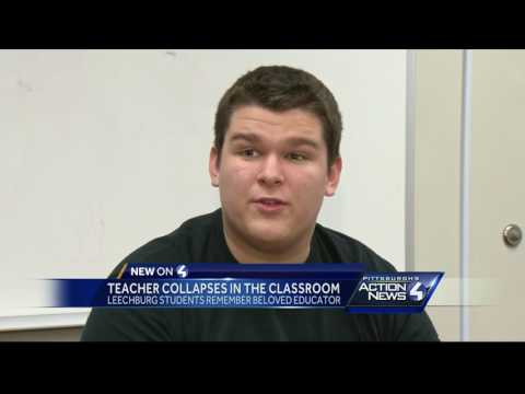 Beloved music teacher dies after collapsing in class at Leechburg High School