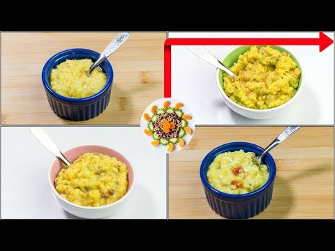 4 Protein Rich Foods For 10 To 24 Month Old Babies & Kids | 4 Meat Khichdi Recipes For Indian Kids