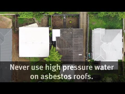 cleaning-asbestos-roofs