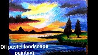 Oil Pastel Painting Landscape Online Class