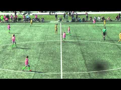 Placer United U12G Gold vs West Coast - State Championship 2015