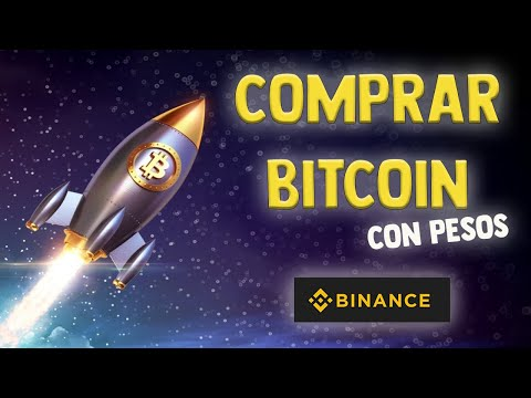 COMPRAR BITCOIN Con PESOS E INVERTIRLOS 🔥 Binance Exchange 🤑