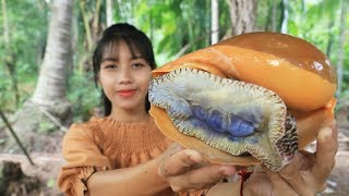 Yummy cooking monster sea snail recipe  Cooking skill