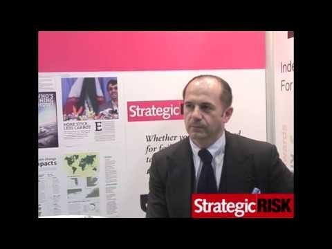 Strategic Risk interviews Peter Hacker of JLT at AIRMIC 2013