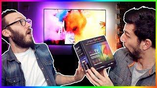 DREAMSCREEN - Ces leds réagissent aux images de la TV