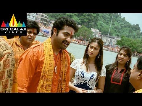 Shakti Movie MS and Jr.NTR Dialogue Scene | Jr.NTR, Ileana | Sri Balaji Video
