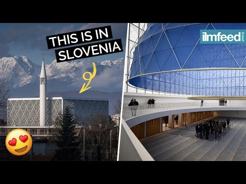 Strikingly Beautiful Mosque In Slovenia
