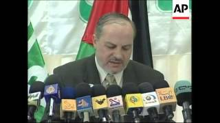 Hamas say they will participate in elections