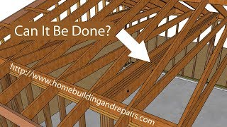 How To Install Structural Ceiling Beam In Existing Garage Roof - Home Remodeling Ideas